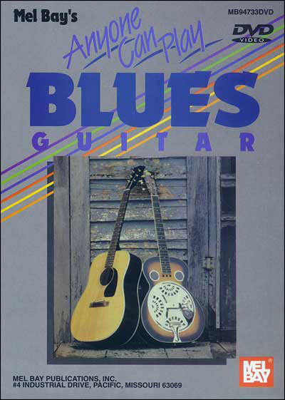 Anyone Can Play Blues Guitar - DVD
